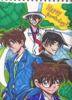Detective Conan Bday pic color by Marimokun