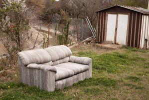 A Couch in Spring by BurlapZack