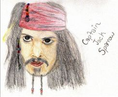 Capt'n Sparrow by caribbeanpirate