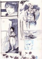 Late 08 sketches by kasai