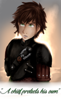 Hiccup: A chief protects his own by oce-sky62