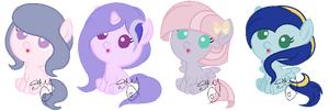 ADOPTABLES: 10 POINTS EACH by Sky-Winds