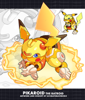 Pseudomon- Pikaroid the Ratroid by ultimatemaverickx