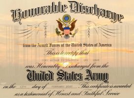 Honorable Discharge by Fitzmx6