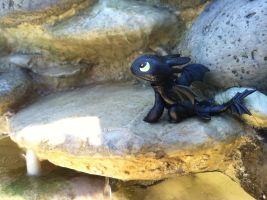 Toothless Watching The Sky by BeautifulHusky