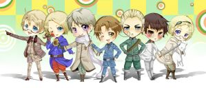 Axis Powers Hetalia by Jermmgirl
