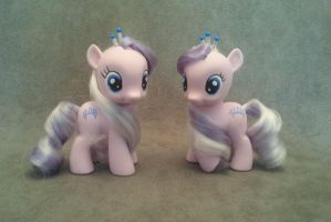 MLP: FiM - Diamond Tiara - custom ponies by hannaliten