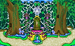 EnchantedCastleBackground by bluebellangel19smj