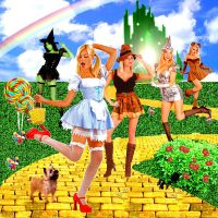 Wizard of Oz by LilPinkFairy