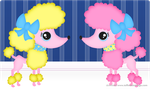Wall: Poodles by ToffeeNut