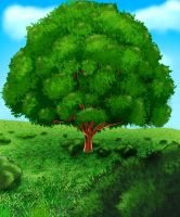 The Lonely Tree by uniqueguy