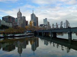 Yarra River, Melbourne by dpt56