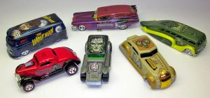 Hot Wheels Universal Monsters Nostalgia series by JasonGoad
