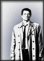Castiel Paperfied by The-Light-Source