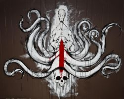 Octo Wall Puss by ShawnCoss