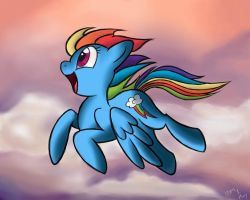 Majestic Dashie by IzumiPie