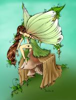 Leaf Fairy by Loulou13