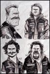 Sons of Anarchy by Porkchop-ART