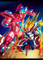 DBM : Vegeta U13 vs Super-Hatchyak by Tomycase