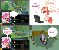 Pinkie in a Dota 2 Game. by Hikarisah