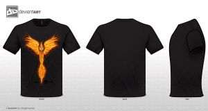 Phoenix T-Shirt Design by SparkyGerbil by SparkyGerbil