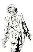 Heath Ledger Joker by bphudson