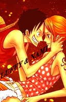 #23 Luffy x Nami by TheSinner93