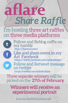 Share Raffle: Win Free Art by Ankoku-Flare