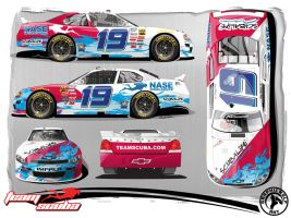Team Scuba Nationwide Chevy by graphicwolf