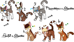 Cedarstar Litters- Closed by KittehzAdopts