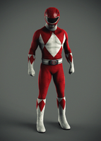 Red Ranger by hyzak
