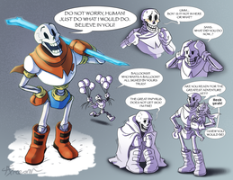 The Great Papyrus by AbsoluteDream