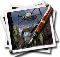 Steampunk Photo Gallery Icon by yereverluvinuncleber