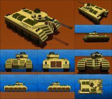 Denizen MK-I Infantry Fighting Vehicle by Raven-Gold