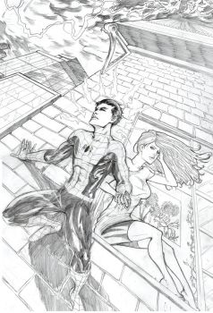 Spidey and MJ Commission by alfred183