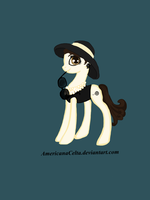Hepburn pony  auction (closed!) by AmericanaCelta