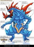 Pokedex 160 - Feraligatr FR by Pokemon-FR