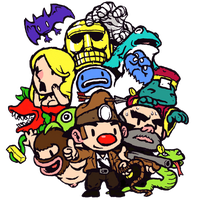 Spelunky Dock Icon 2 by linkdragon
