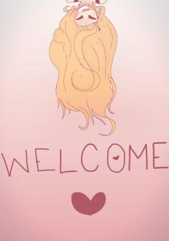 Welcome !  by ShirotheLittleFox