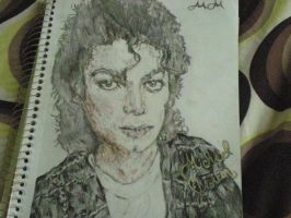 Michael Jackson by Panicatthedisco7