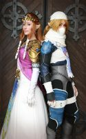 Zelda / Sheik by AlchemicalCosplay