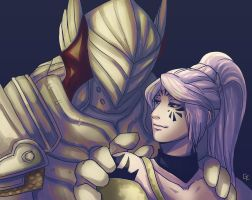 GW2 commission for Edivaine by HasegawaVega