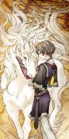 Prince and Unicorn by JaneMere