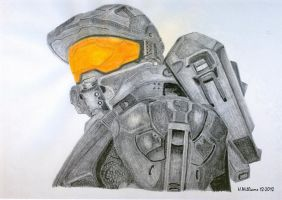 Master Chief Color by 12jack12
