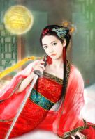 Traditional Chinese Sword by dinglaura