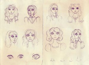Sketches by Ninelyn