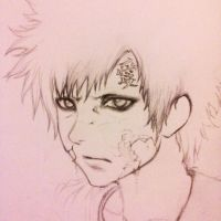 Gaara of the sand by zecrymsouseiki