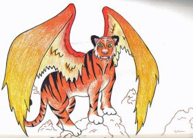 Tiger wings by Ddogg2287