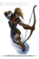Recurve - Commission by Satapatis