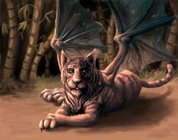 The Winged Tiger by Joey-B